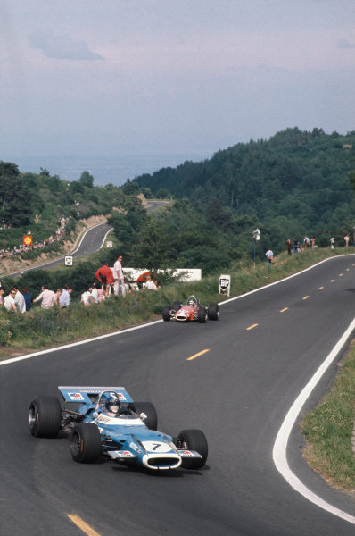 Clermont-Ferrand, France. 4-6th July 1969.  Jean-Pierre Beltoise, Matra MS80 Ford.  Ref: 69FRA02. World Copyright: LAT Photographic