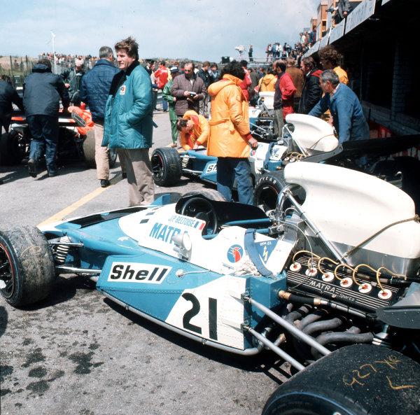 Zandvoort, Holland.18-20 June 1971.Jean-Pierre Beltoise (Matra-Simca MS120B).Ref-3/4774D.World Copyright - LAT Photographic