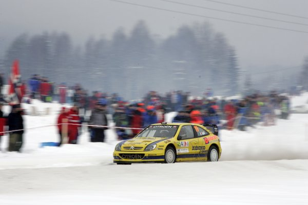 2007 FIA World Rally ChampionshipRound 3Rally of Norway 200715th - 18th February 2007Gigi Galli, Citroen, Action.Worldwide Copyright: McKlein/LAT