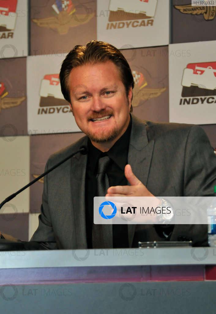 2012 IndyCar New Race Director Introduction