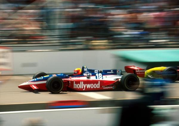 Mauricio Gugelmin (BRA) Reynard Ford Cosworth finished sixth at the Brickyard.PPG Indycar Series, Indianapolis 500, Indianapolis, USA, 28 May 1995.Catalogue Ref.: 40-034Sutton Motorsport Images Catalogue
