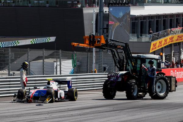 2017 FIA Formula 2 Round 5. Red Bull Ring, Spielberg, Austria. Sunday 9 July 2017.Raffaele Marciello (ITA, Trident).  Photo: Zak Mauger/FIA Formula 2. ref: Digital Image _54I9944