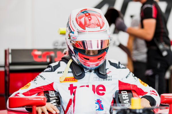 2017 FIA Formula 2 Round 5. Red Bull Ring, Spielberg, Austria. Friday 7 July 2017. Alexander Albon (THA, ART Grand Prix).  Photo: Zak Mauger/FIA Formula 2. ref: Digital Image _54I6204