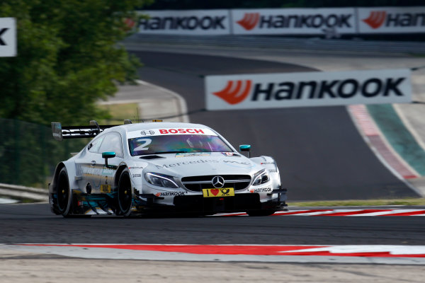 2017 DTM Round 3 Hungaroring, Budapest, Hungary. Friday 16 June 2017. Gary Paffett, Mercedes-AMG Team HWA, Mercedes-AMG C63 DTM World Copyright: Alexander Trienitz/LAT Images ref: Digital Image 2017-DTM-R3-HUN-AT1-0237