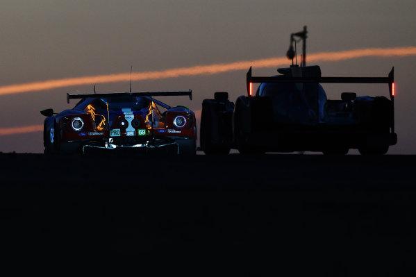 2017 Le Mans 24 Hours Circuit de la Sarthe, Le Mans, France. Saturday 17 June 2017 #69 Ford Chip Ganassi Racing Ford GT: Ryan Briscoe, Richard Westbrook, Scott Dixon World Copyright: Rainier Ehrhardt/LAT Images ref: Digital Image 24LM-re-14896