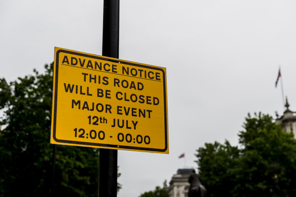 F1 Live London. London, United Kingdom. Tuesday 11 July 2017. Preparations for F1 Live London. World Copyright: Zak Mauger/LAT Images ref: Digital Image _56I5423
