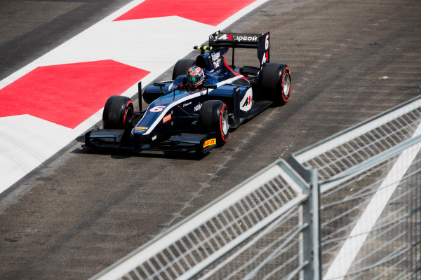 2017 FIA Formula 2 Round 4. Baku City Circuit, Baku, Azerbaijan. Friday 23 June 2017. Artem Markelov (RUS, RUSSIAN TIME)  Photo: Zak Mauger/FIA Formula 2. ref: Digital Image _56I6923
