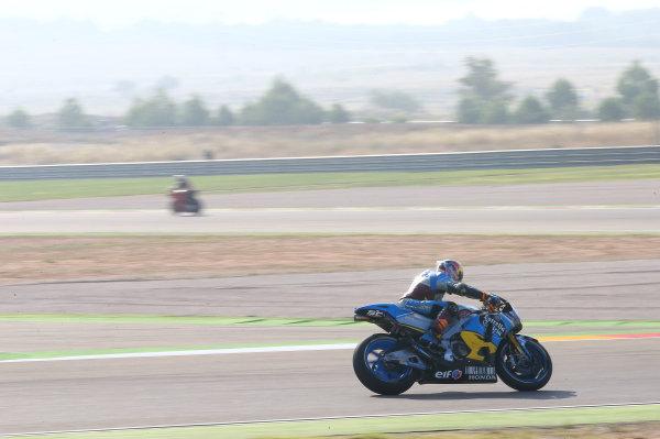 2017 MotoGP Championship - Round 14 Aragon, Spain. Saturday 23 September 2017 Jack Miller, Estrella Galicia 0,0 Marc VDS World Copyright: Gold and Goose / LAT Images ref: Digital Image 694153