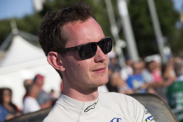English co-driver [to Hayden Paddon] Sebastian Marshall