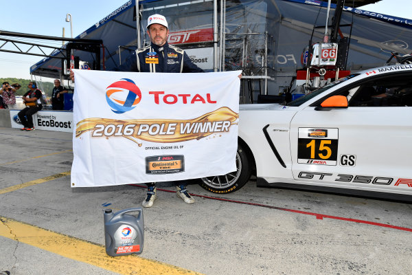 7-9 July 2016, Bowmanville, Ontario Canada 15, Ford, Shelby GT350R-C, GS, Scott Maxwell, Billy Johnson, winner, Total Pole Award ?2016, Scott R LePage  LAT Photo USA