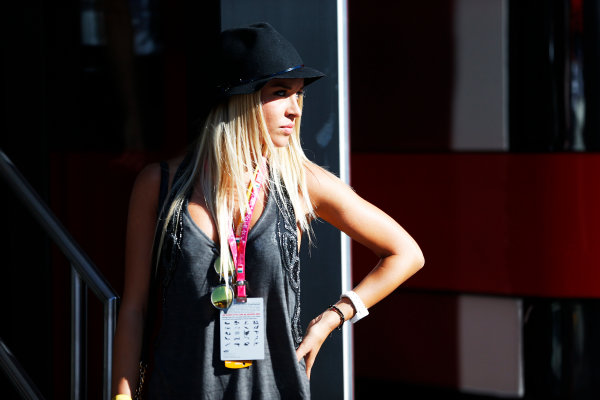 Autodromo Nazionale di Monza, Monza, Italy. Sunday 6 September 2015. A guest in the paddock. World Copyright: Jed Leicester/LAT Photographic ref: Digital Image _L1_9665