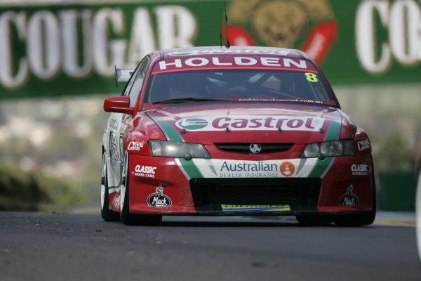 2004 Australian V8 Supercars. Bathurst 1000, Bathurst, Australia. 10th October 2004Paul Dumbrell (Commodore VY). ActionPhoto: Mark Horsburgh/LAT Photographic Ref:Digital Image only