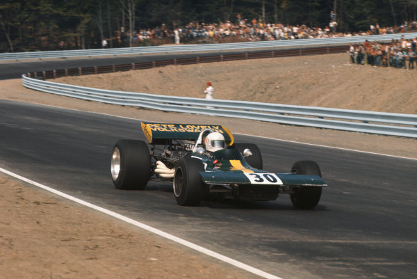 1971 United States Grand Prix.  Watkins Glen, New York, USA. 1st-3rd October 1971.  Pete Lovely, Lotus 69 Special Ford.  Ref: 71USA49. World Copyright: LAT Photographic