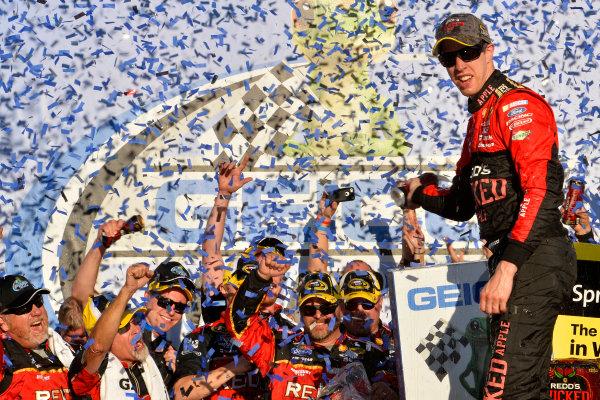 17-19 October, 2014, Talladega, Alabama USA Brad Keselowski celebrates in victory lane ?2014, John Harrelson / LAT Photo USA
