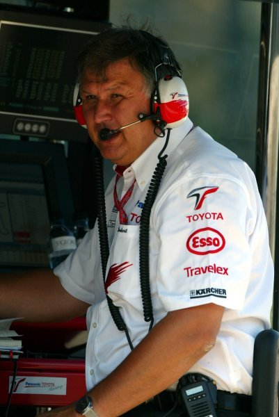 Norbert Kreyer (GER) Toyota Senior General Manager of Race and Test Engineering.