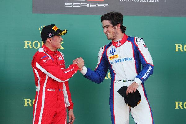 Pedro Piquet (BRA, Trident), Giuliano Alesi (FRA, Trident)