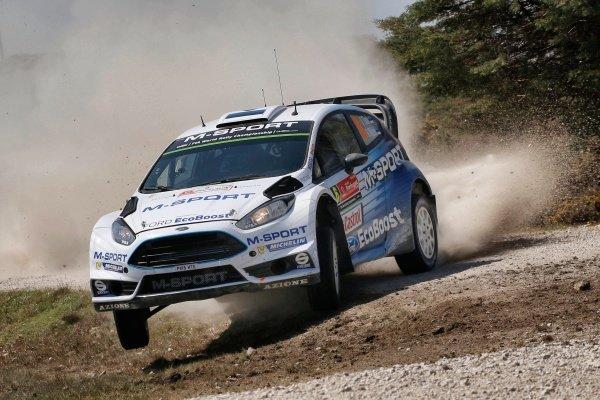 Ott Tanak (EST) / Raigo Molder (EST) Ford Fiesta RS WRC at World Rally Championship, Rd5, Rally Portugal, Day One, Matosinhos, Portugal, 22 May 2015.