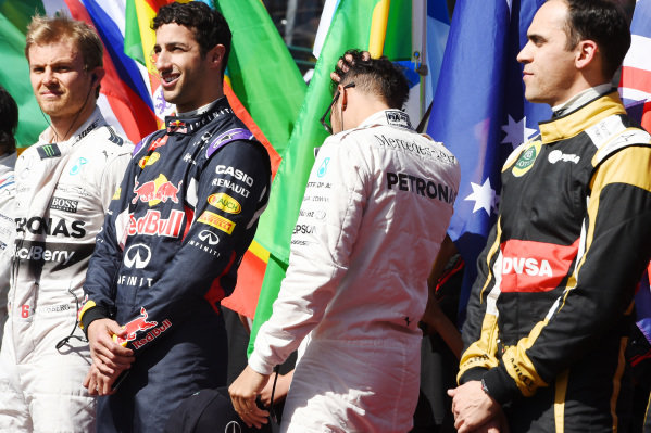 at Formula One World Championship, Rd1, Australian Grand Prix, Race, Albert Park, Melbourne, Australia, Sunday 15 March 2015.