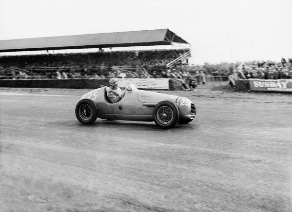 "Silverstone, Great Britain. 20 May 1952.""B Bira"" (Simca-Gordini 15).Ref-Motor 769/37.World Copyright - LAT Photographic"