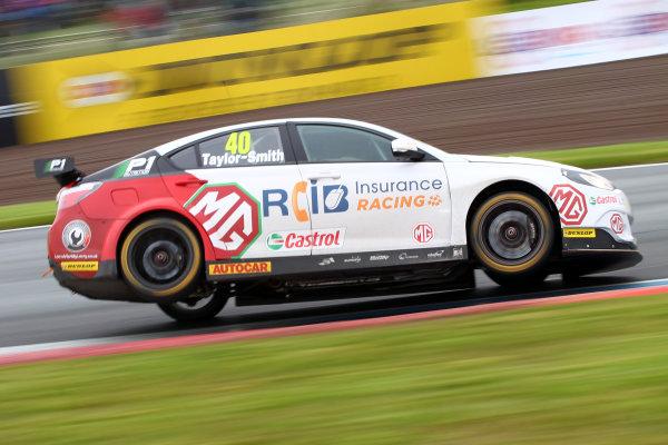 2017 British Touring Car Championship, Knockhill, Scotland. 12th-13th August 2017, Aron Taylor-Smith (IRL) MG Racing RCIB Insurance MG6GT World copyright. JEP/LAT Images