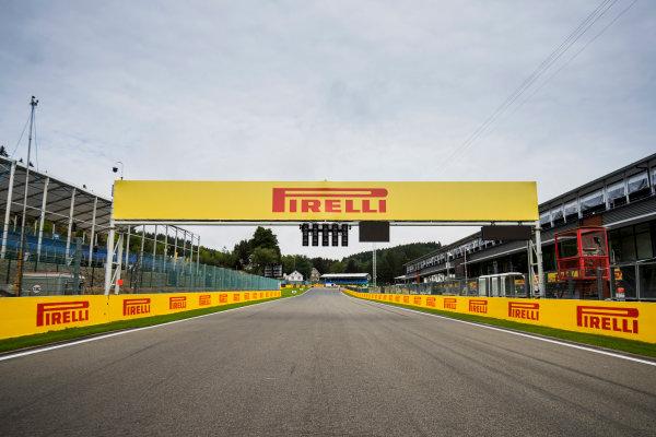 2017 FIA Formula 2 Round 8. Spa-Francorchamps, Spa, Belgium. Thursday 24 August 2017. A view of the track. Photo: Zak Mauger/FIA Formula 2. ref: Digital Image _54I9509