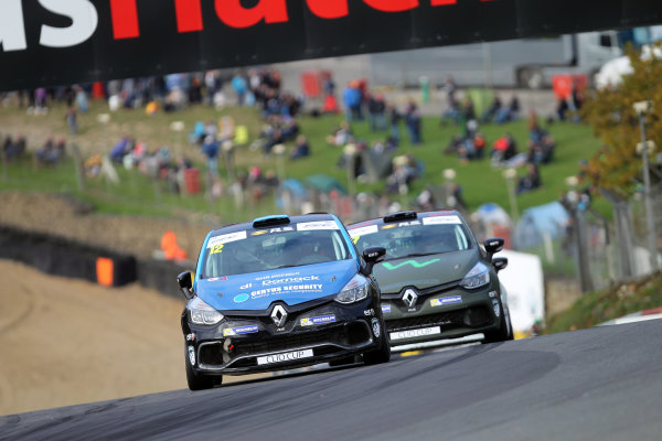 2017 Renault Clio Cup, Brands Hatch, Kent. 30th September - 1st October 2017, Brett Lidsey (GBR) MRM Renault Clio Cup World copyright. JEP/LAT Images