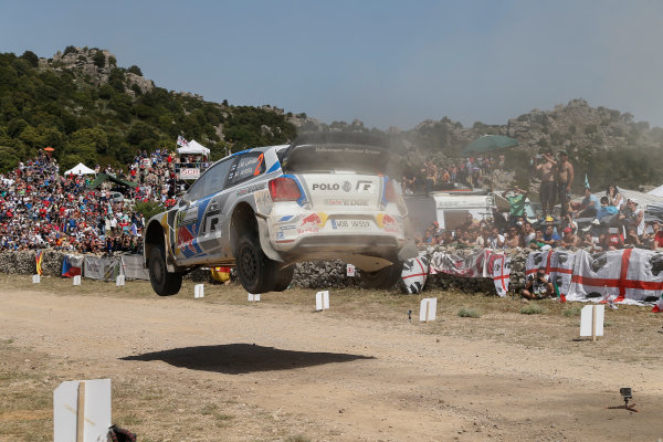 2014 World Rally Championship Rally Italy Sardinia 5th - 8th June 2014 Jari-Matti Latvala, VW, Action Worldwide Copyright: McKlein/LAT