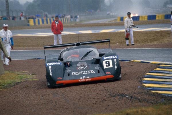 1992 Le Mans 24 Hours. Le Mans, France. 20th - 21st June 1992. Wayne Taylor/Harri Toivonen/Richard Jones (BRM P351), retired, action. World Copyright: LAT Photographic. Ref:  92LM29.
