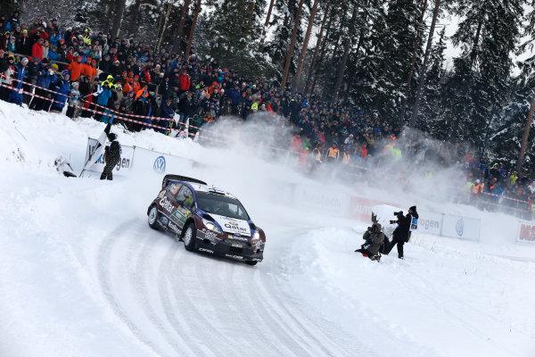 2013 FIA World Rally Championship Round 02-Rally Sweden 07-10 Februari 2013. Juha Hanninen, Ford WRC, Action. Worldwide Copyright: McKlein/LAT