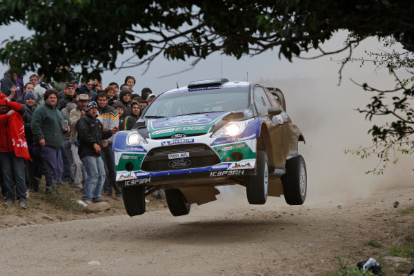 Round 05, Rally Argentina26th - 29th April 2012Dani Sordo, Ford, actionWorldwide Copyright: McKlein/LAT