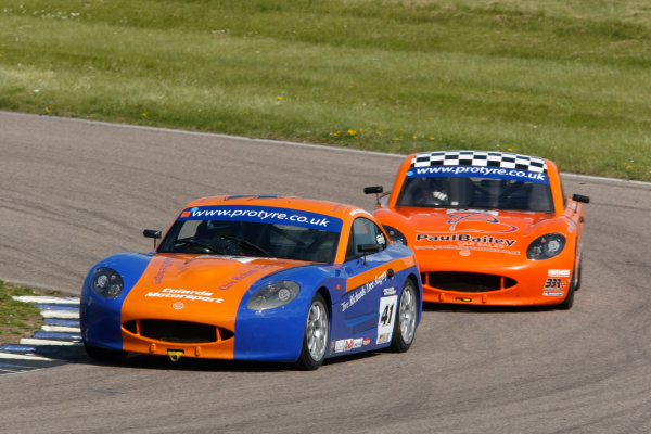 2013 Ginetta GT5 Challenge Rockingham, 5th and 6th May, 2013 Clive Richards World Copyright. Ebrey/LAT Photographic