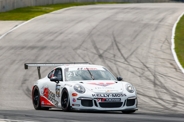 5-7 August 2016, Elkhart Lake, Wisconsin USA 21, Jesse Lazare, Platinum, 2015 Porsche ?2016, Jake Galstad LAT Photo USA