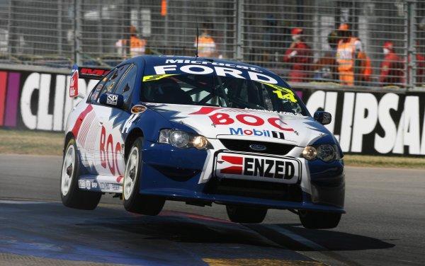 2006 Australian V8 Supercars Clipsal 500, Adelaide, Australia. 25th - 26th March 2006. Brad Jones (Team BOC Ford Falcon BA). Action. World Copyright: Mark Horsburgh/LAT Photographic ref: Digital Image Only.