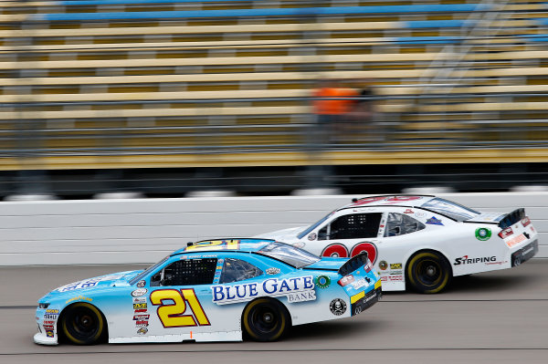 NASCAR XFINITY Series American Ethanol E15 250 presented by Enogen Iowa Speedway, Newton, IA USA Friday 23 June 2017 Daniel Hemric, Blue Gate Bank Chevrolet Camaro World Copyright: Brett Moist LAT Images