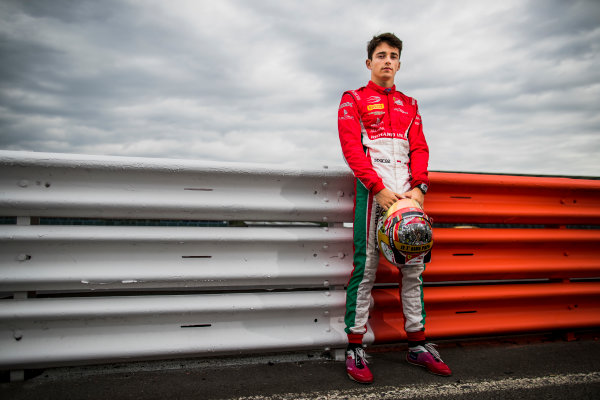 2017 FIA Formula 2 Round 6. Silverstone, Northamptonshire, UK. Thursday 13 July 2017. Charles Leclerc (MCO, PREMA Racing).  Photo: Zak Mauger/FIA Formula 2. ref: Digital Image _56I6315