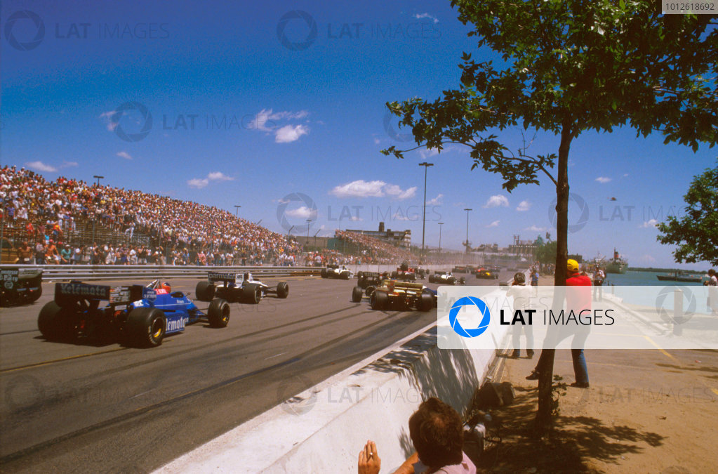 1984 United States Grand Prix East.