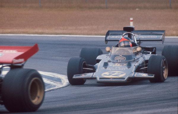 1972 Belgian Grand Prix.Nivelles-Baulers, Belgium.2-4 June 1972.Emerson Fittipaldi (Lotus 72D Ford) 1st position.Ref-72 BEL 13.World Copyright - LAT Photographic
