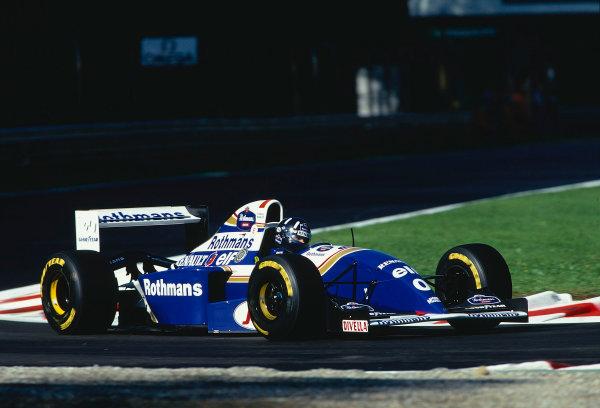 1994 Italian Grand Prix.Monza, Italy.9-11 September 1994.Damon Hill (Williams FW16B Renault) 1st position.Ref-94 ITA 16.World Copyright - LAT Photographic