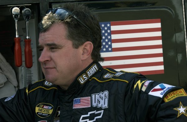 03/26/04 NASCAR Nextel Cup Series.Round 6 of 36. Food City 500. Joe Nemechek. Bristol, Tennessee, USA.