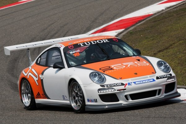 Marcel Tjia (NED) OpenRoad Racing.Porsche Carrera Cup Asia, Shanghai, China, 16-18 April 2010.