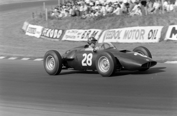 Graham Hill, BRM P48.