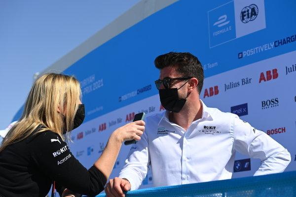 Norman Nato (FRA) Venturi Racing, is interviewed