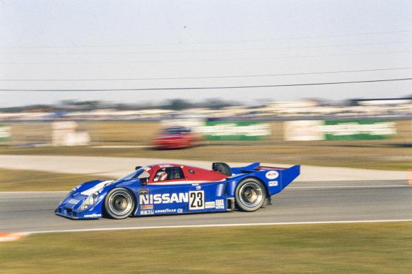 Masahiro Hasemi / Kazuyoshi Hoshino / Toshio Suzuki / Anders Olofsson, Nissan R91CP.