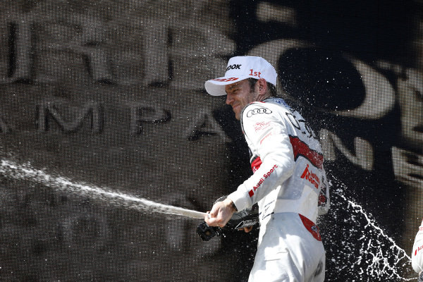 Podium: Jamie Green, Audi Sport Team Rosberg.