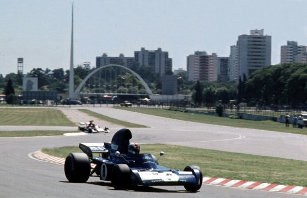 1973 Argentinian Grand Prix.Buenos Aires, Argentina.26-28 January 1973.Francois Cevert (Tyrrell 006 Ford) 2nd position.Ref-73 ARG 46.World Copyright - LAT Photographic