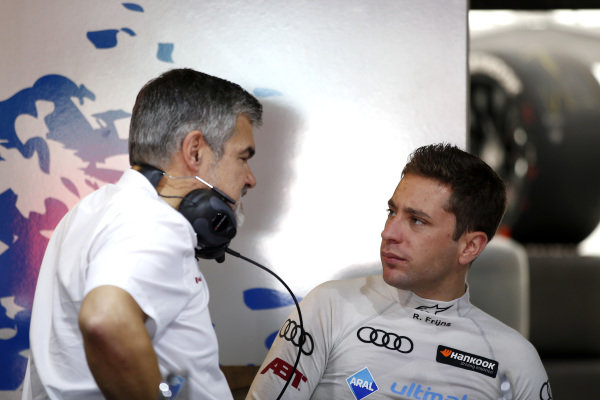 Robin Frijns, Audi Sport Team Abt Sportsline, Dieter Gass, Head of DTM Audi Sport.