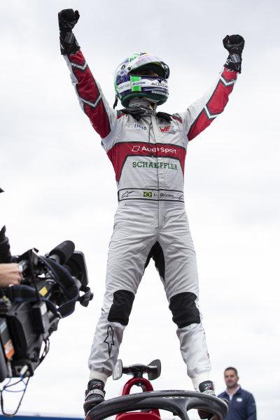 Lucas Di Grassi (BRA), Audi Sport ABT Schaeffler, celebrates victory