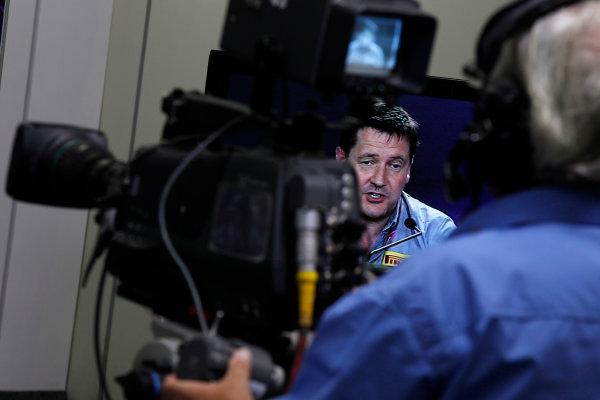 Interlagos, Sao Paulo, Brazil. 25th November 2011. Paul Hembery, Motorsport Director, Pirelli. Portrait. Press Conferences.  World Copyright:Charles Coates/LAT Photographic ref: Digital Image _X5J0414