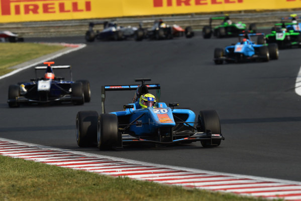 Ralph Boschung (SUI) Jenzer Motorsport at GP3 Series, Rd4, Hungaroring, Hungary, 24-26 July 2015.