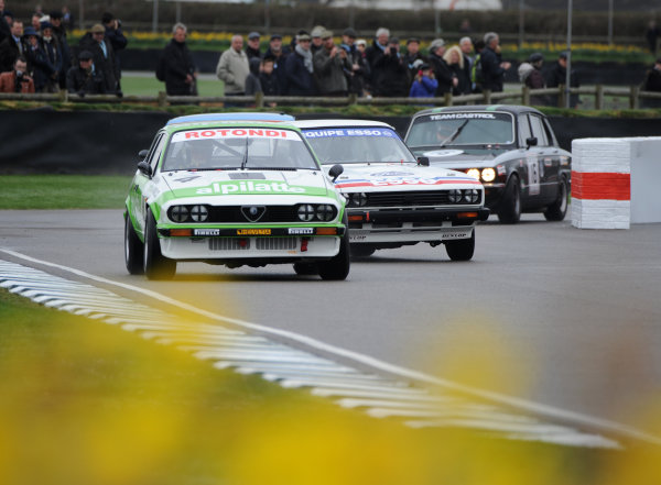 2017 75th Members Meeting Goodwood Estate, West Sussex,England 18th - 19th March 2017 Gerry Marshall Trophy Minassian Clayson Alfa World Copyright : Jeff Bloxham/LAT Images Ref : Digital Image